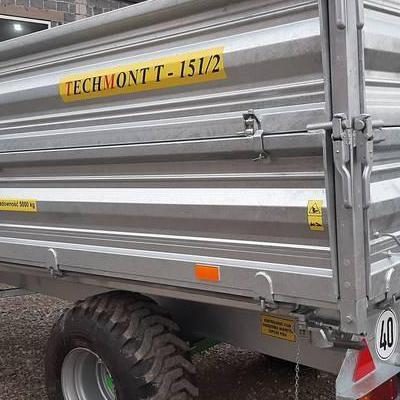 techmont przyczepy T151 5t 22